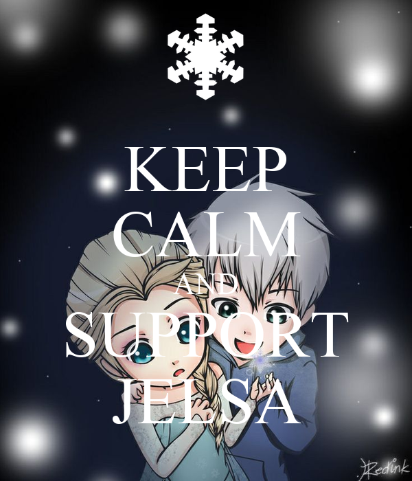 KEEP CALM AND SUPPORT JELSA