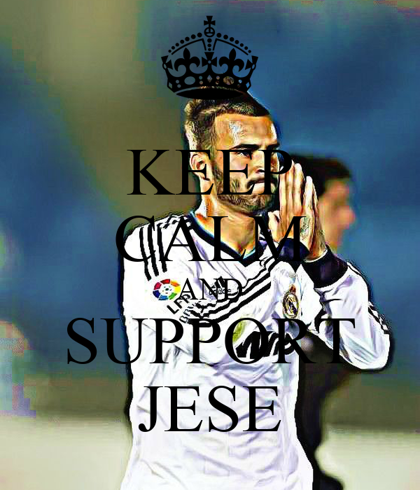 KEEP CALM AND SUPPORT JESE