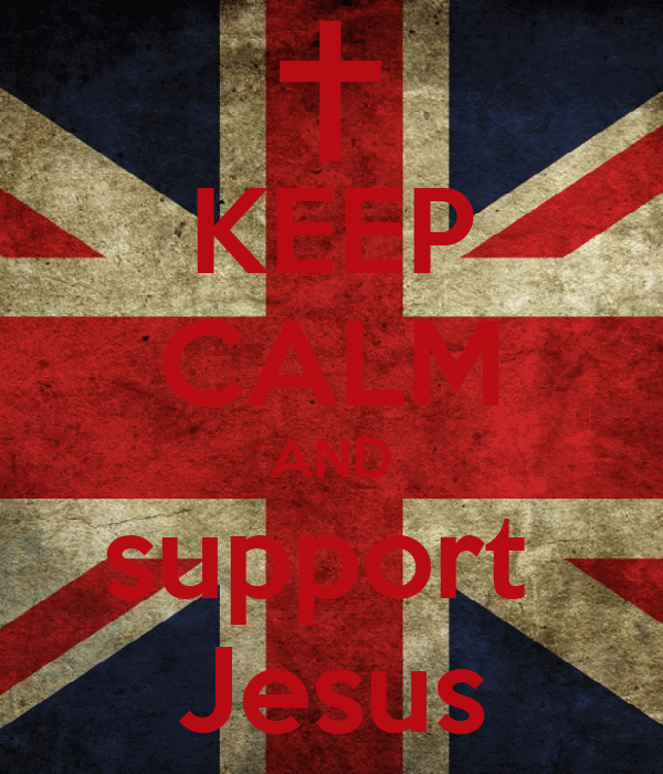 KEEP CALM AND support  Jesus