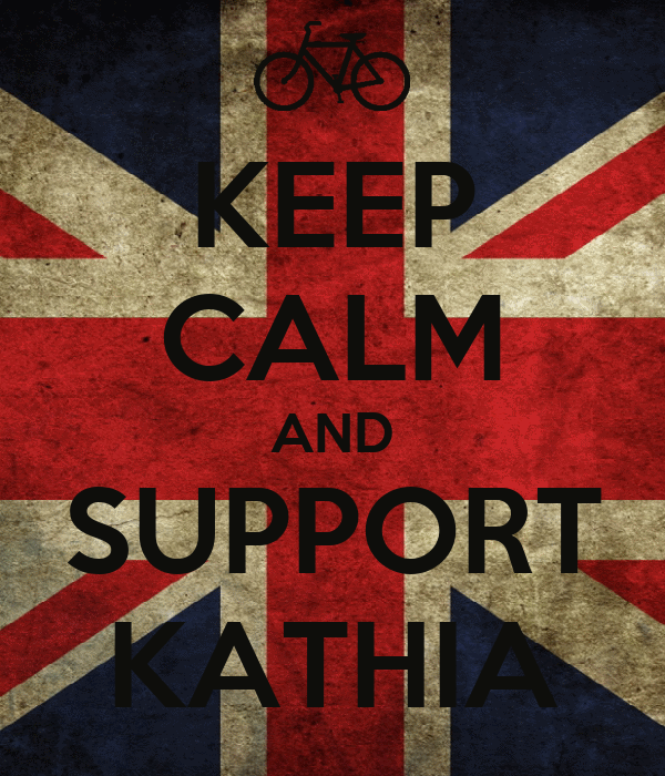 KEEP CALM AND SUPPORT KATHIA
