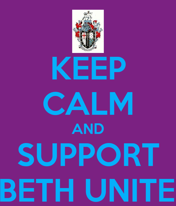 KEEP CALM AND SUPPORT LAMBETH UNITED FC