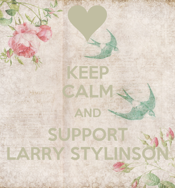 KEEP CALM AND SUPPORT LARRY STYLINSON
