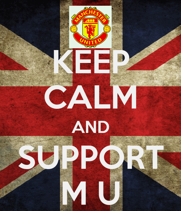 KEEP CALM AND SUPPORT M U