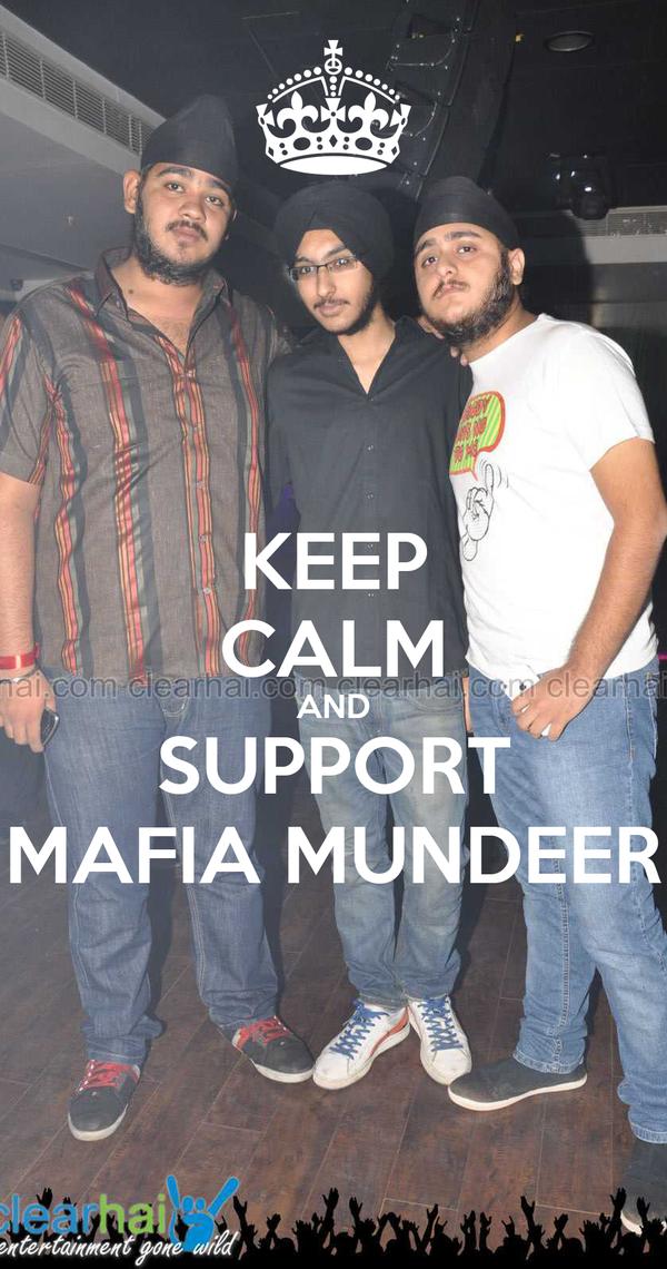 KEEP CALM AND SUPPORT MAFIA MUNDEER