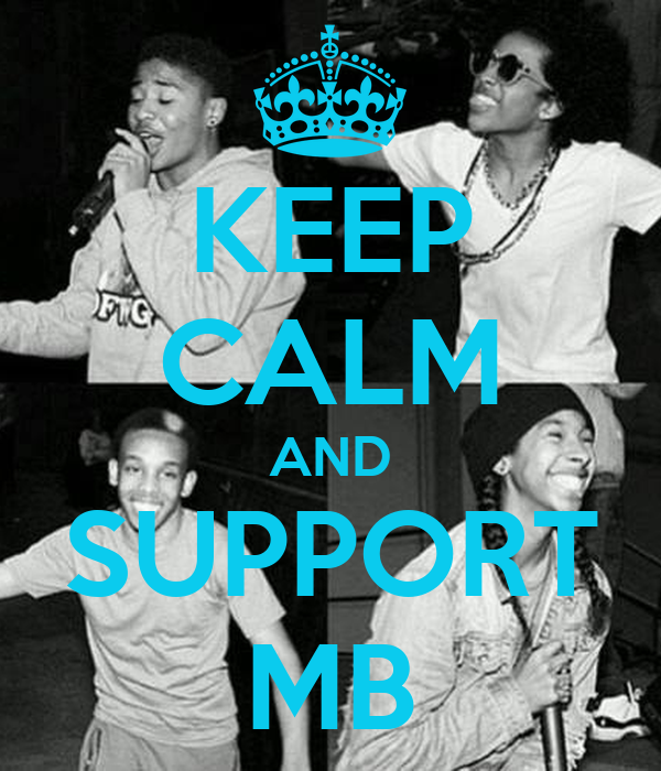 KEEP CALM AND SUPPORT MB