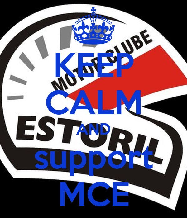 KEEP CALM AND support MCE