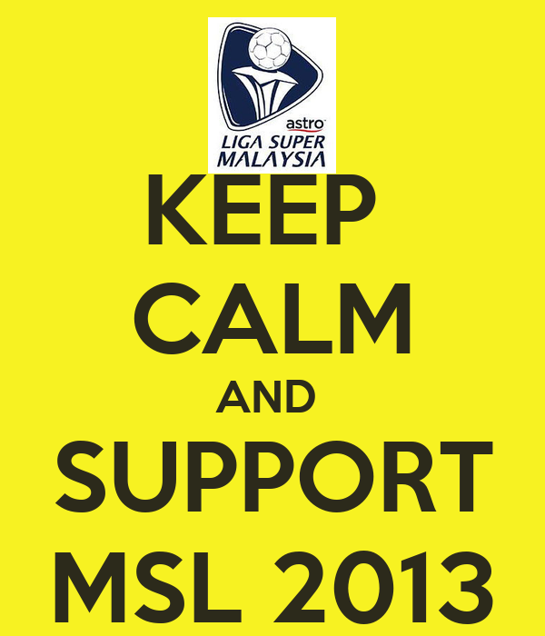 KEEP  CALM AND  SUPPORT MSL 2013