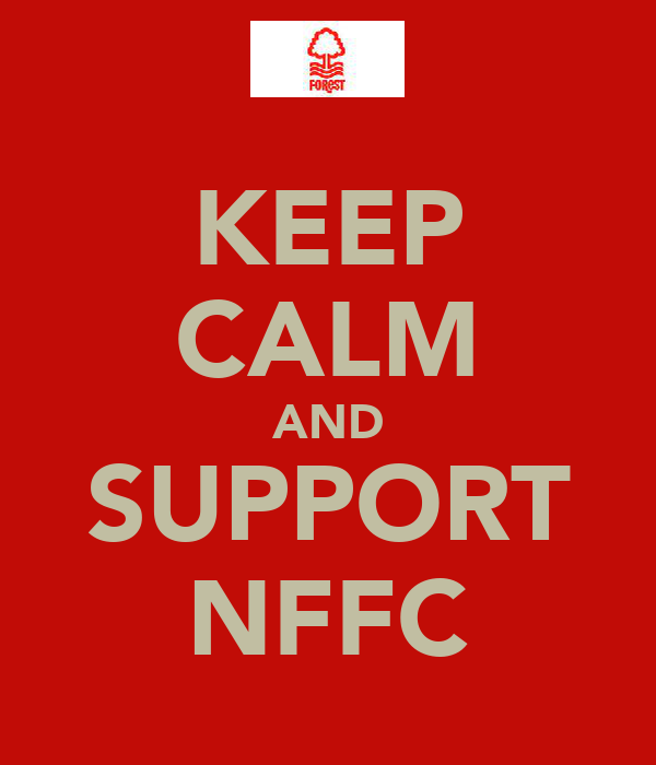 KEEP CALM AND SUPPORT NFFC