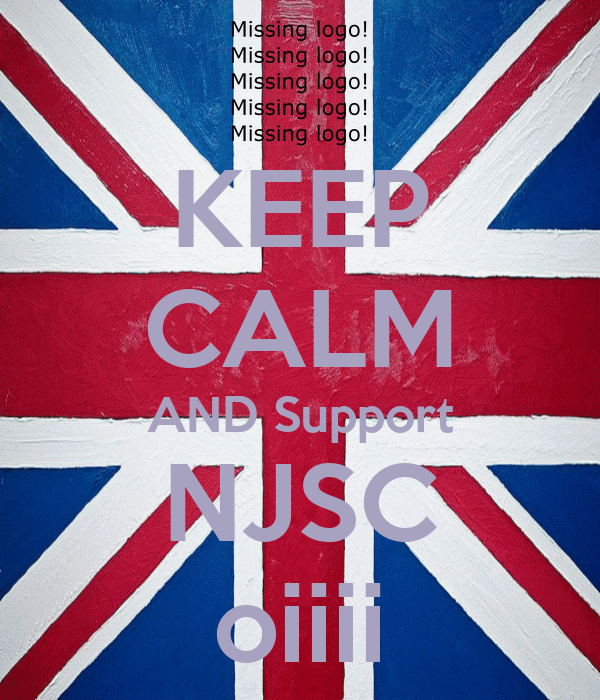 KEEP CALM AND Support NJSC oiiii