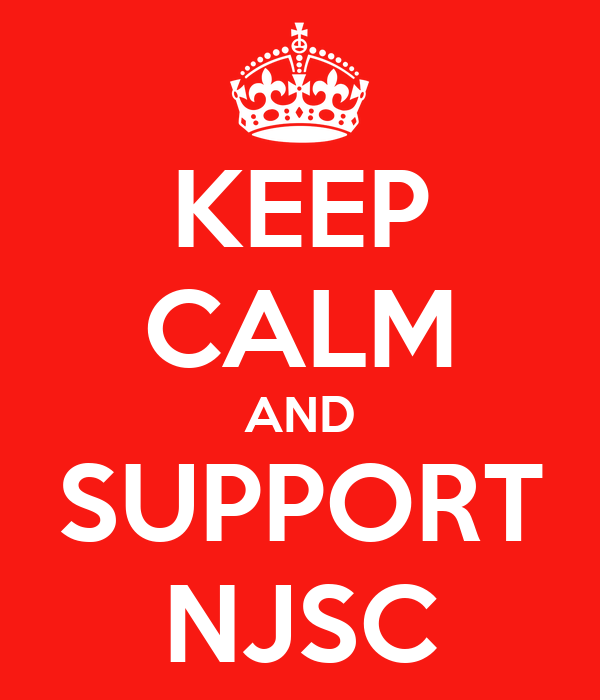 KEEP CALM AND SUPPORT NJSC