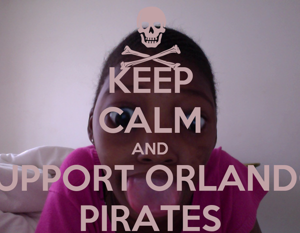 KEEP CALM AND SUPPORT ORLANDO PIRATES