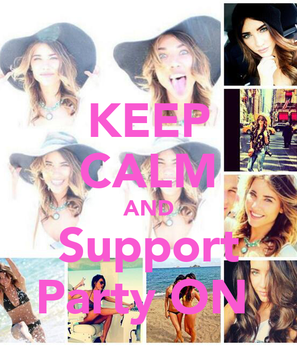 KEEP CALM AND Support Party ON
