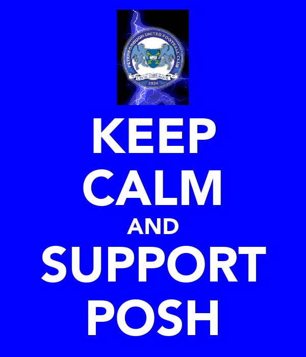 KEEP CALM AND SUPPORT POSH