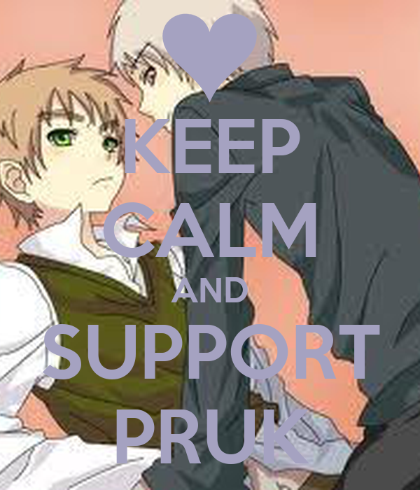 KEEP CALM AND SUPPORT PRUK