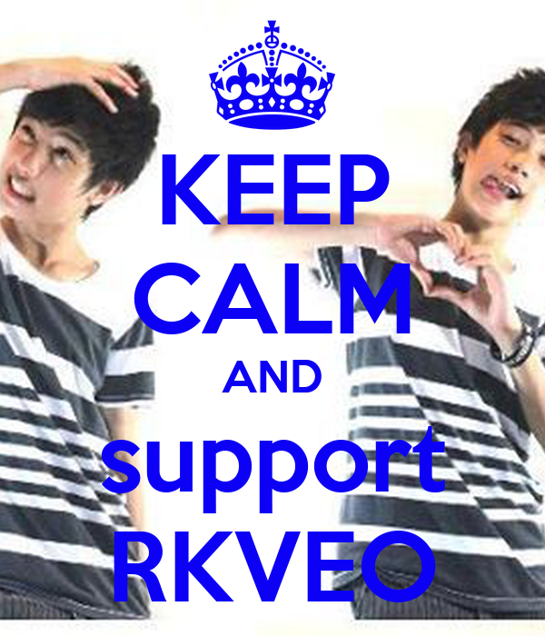 KEEP CALM AND support RKVEO