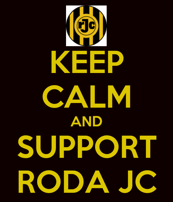 KEEP CALM AND SUPPORT RODA JC