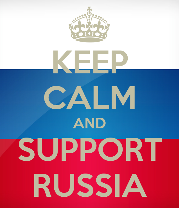 Image result for support for Russia