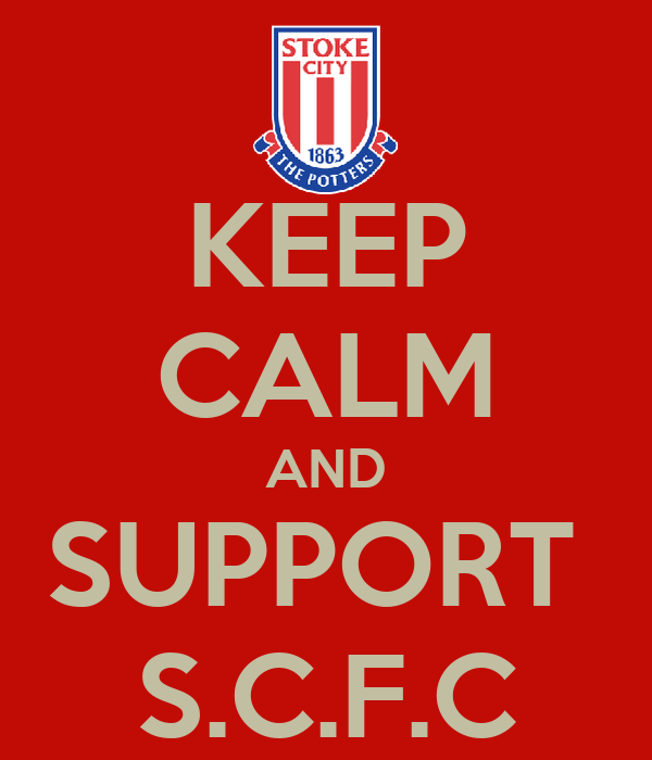 KEEP CALM AND SUPPORT  S.C.F.C