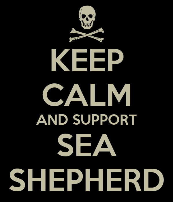 KEEP CALM AND SUPPORT SEA SHEPHERD