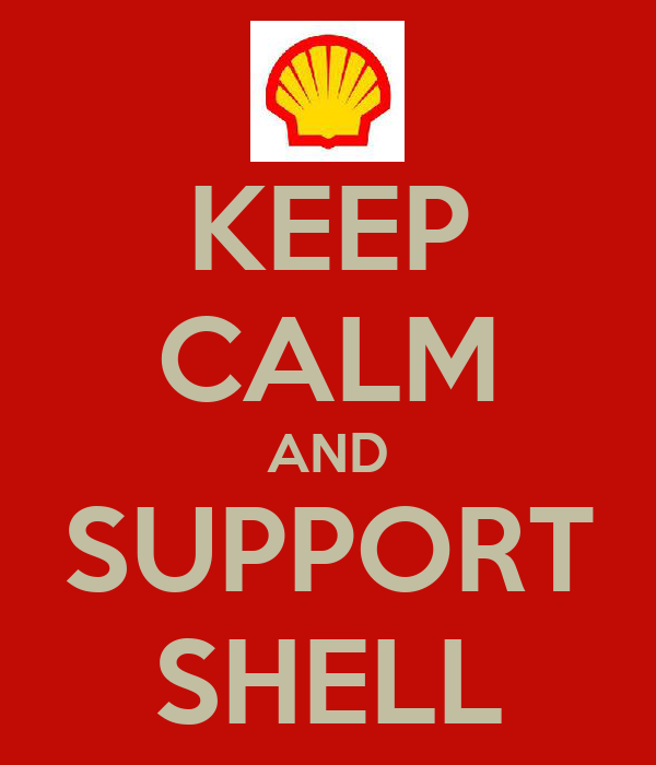 KEEP CALM AND SUPPORT SHELL