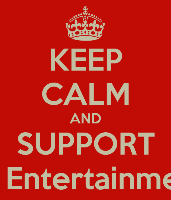 KEEP CALM AND SUPPORT SM Entertainment