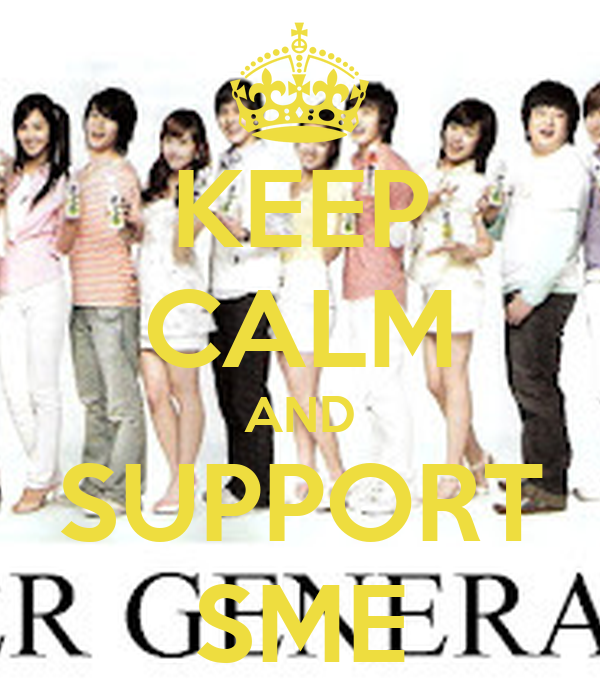 KEEP CALM AND SUPPORT SME