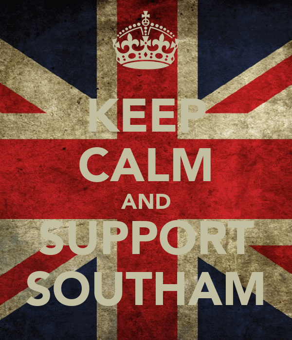 KEEP CALM AND SUPPORT SOUTHAM