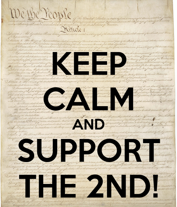 KEEP CALM AND SUPPORT THE 2ND!