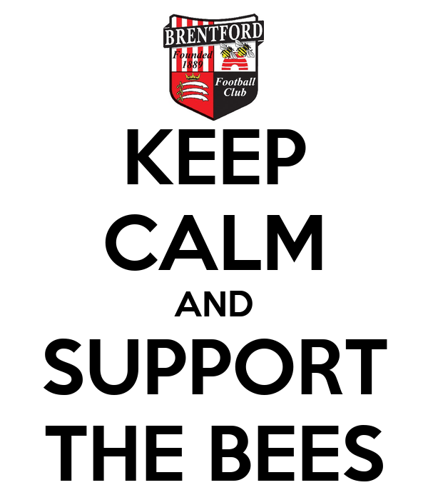 KEEP CALM AND SUPPORT THE BEES