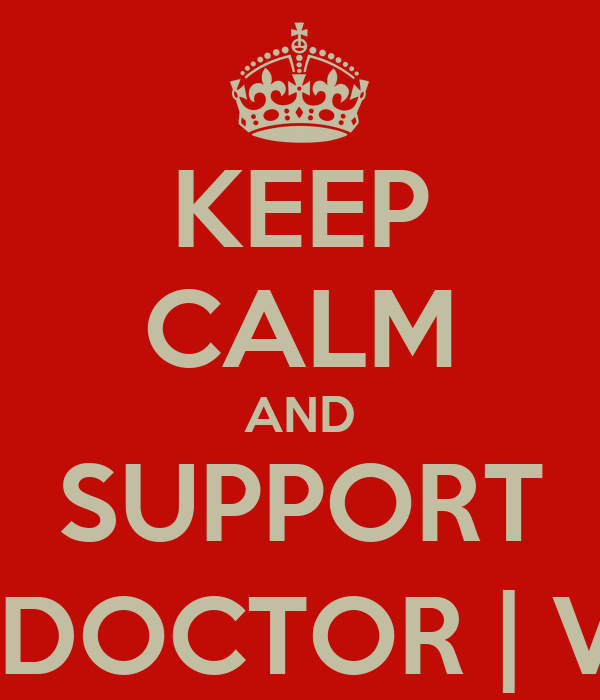 KEEP CALM AND SUPPORT THE DOCTOR | VR46