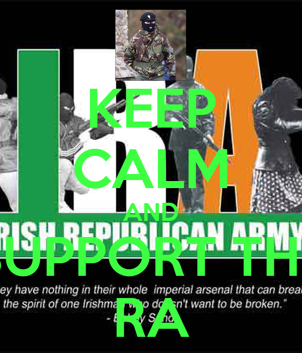KEEP CALM AND SUPPORT THE RA