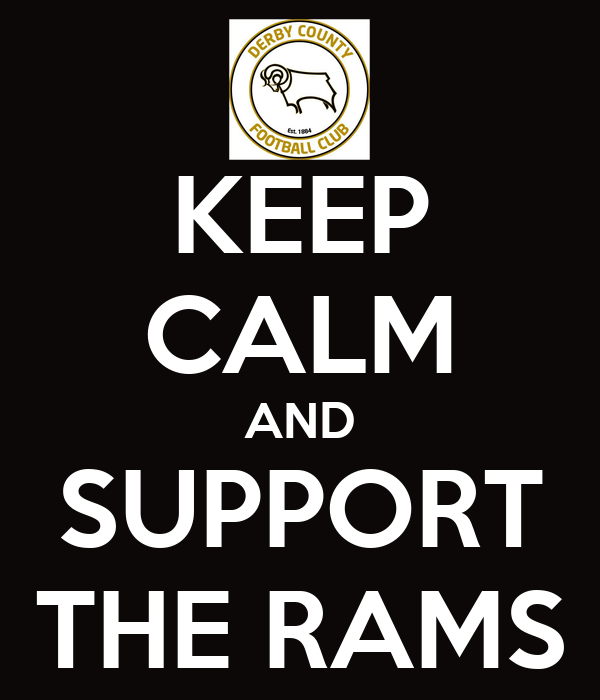 KEEP CALM AND SUPPORT THE RAMS