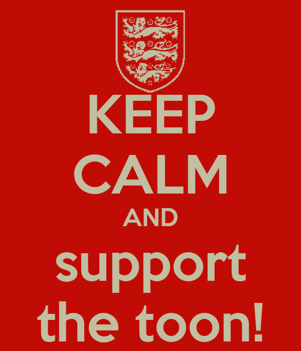 KEEP CALM AND support the toon!