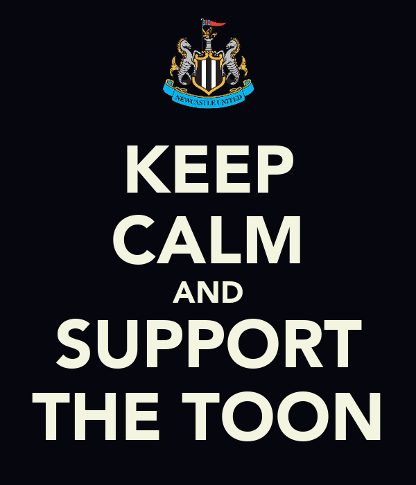 KEEP CALM AND SUPPORT THE TOON