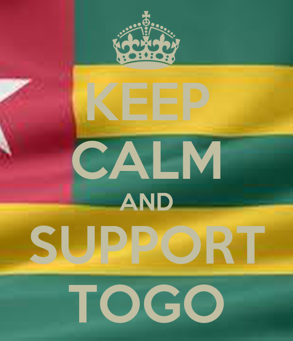 KEEP CALM AND SUPPORT TOGO