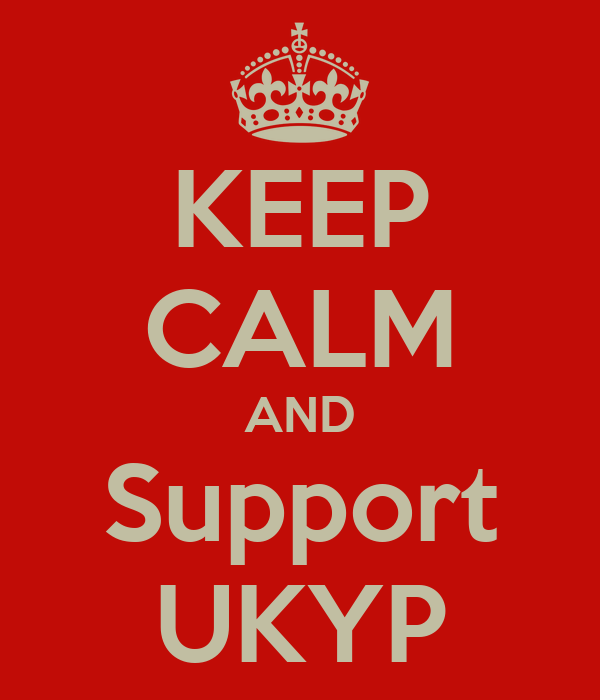 KEEP CALM AND Support UKYP