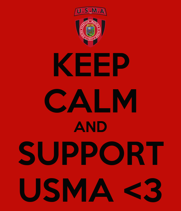 KEEP CALM AND SUPPORT USMA <3