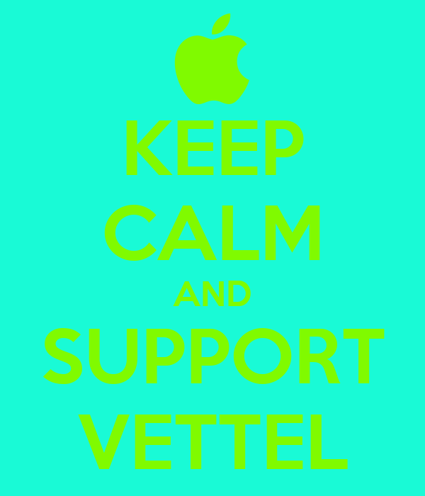 KEEP CALM AND SUPPORT VETTEL