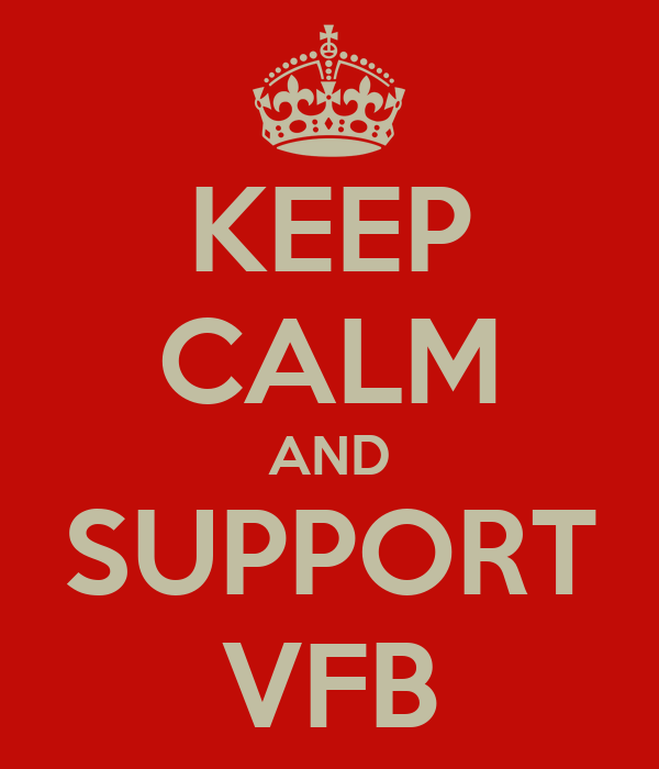 KEEP CALM AND SUPPORT VFB