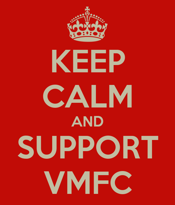 KEEP CALM AND SUPPORT VMFC