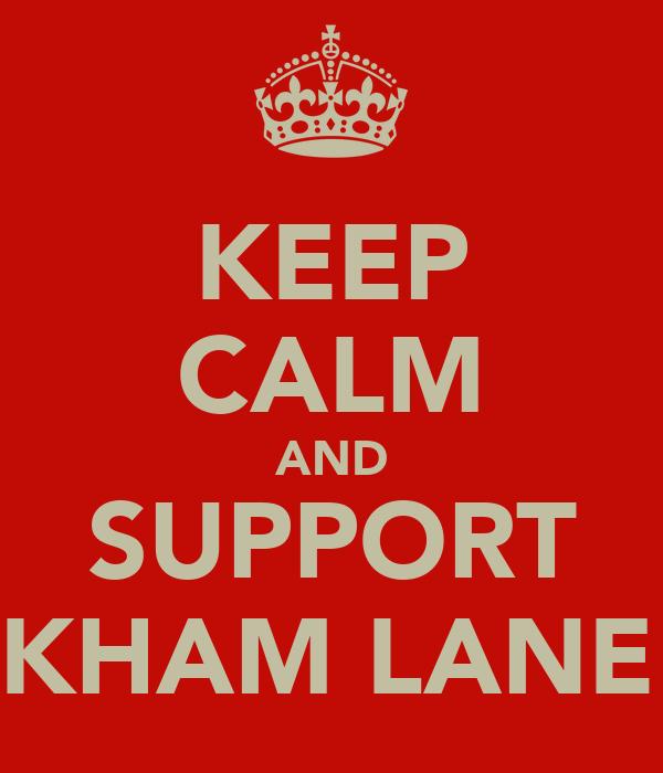 KEEP CALM AND SUPPORT WICKHAM LANE JFC
