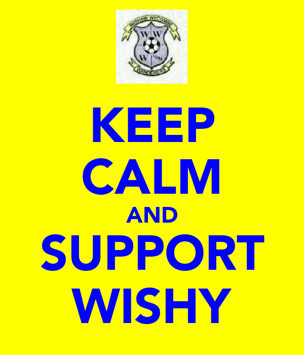 KEEP CALM AND SUPPORT WISHY