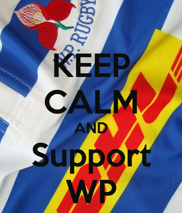 KEEP CALM AND Support WP