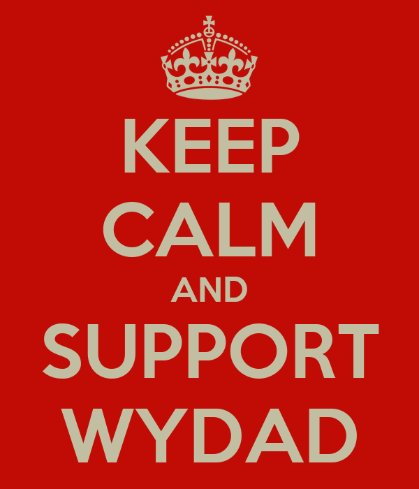 KEEP CALM AND SUPPORT WYDAD