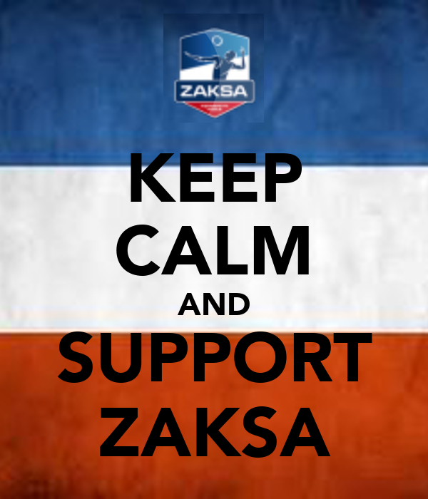 KEEP CALM AND SUPPORT ZAKSA