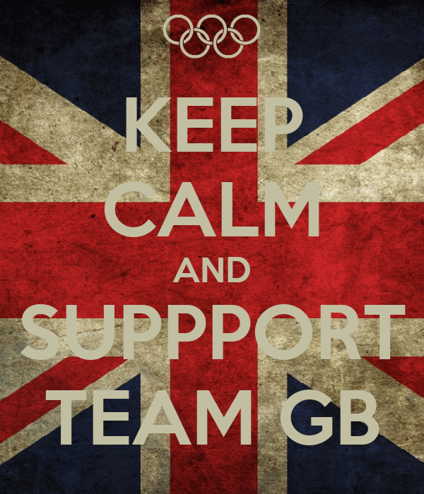 KEEP CALM AND SUPPPORT TEAM GB