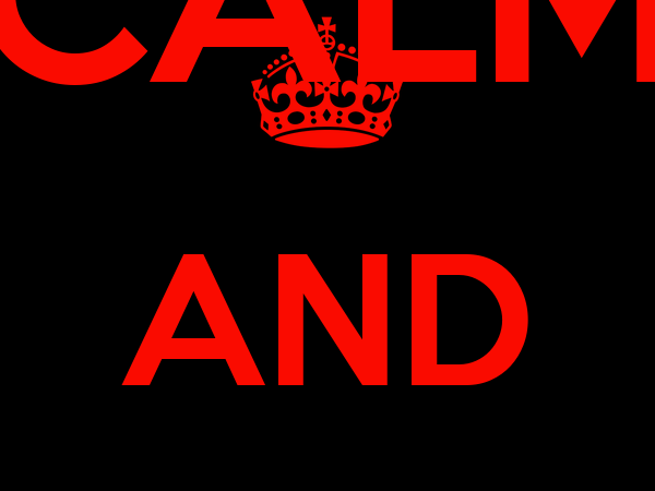 KEEP CALM AND SURRENDER TO LUMUS