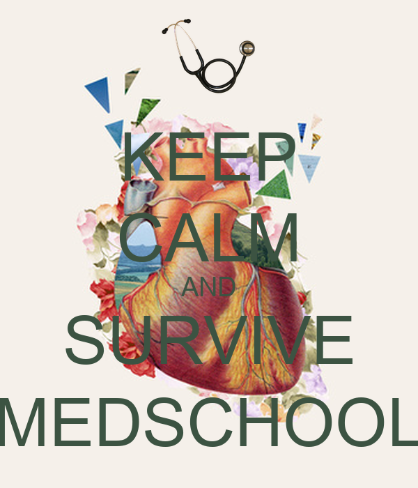 KEEP CALM AND SURVIVE MEDSCHOOL