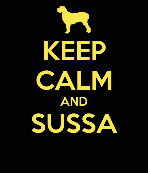 KEEP CALM AND SUSSA