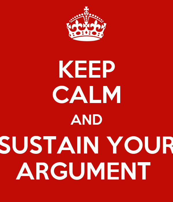 how to keep calm in an argument